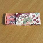 Ein kleiner Gruß – Yogurette Verpackung mit Anleitung